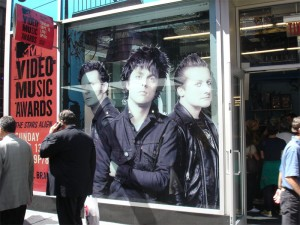 Green Day Times Square2