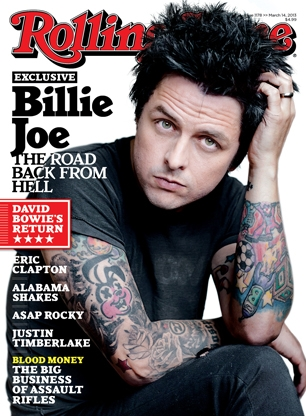 billie joe rolling stone cover
